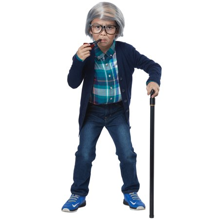 Old Man Combover Child Costume Kit](Old Fashioned Costumes)