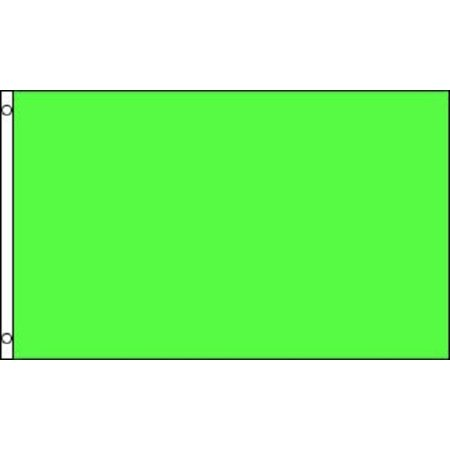 Neon Green Flag Solid Color Banner Advertising Pennant Decoration Decor 3x5 New