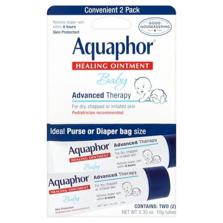 Aquaphor Bébé avancée Thérapie de guérison Pommade Apaisant 2-0,35 oz tubes