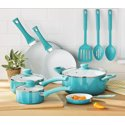 Mainstays Ceramic Nonstick 12 Piece Cookware Set