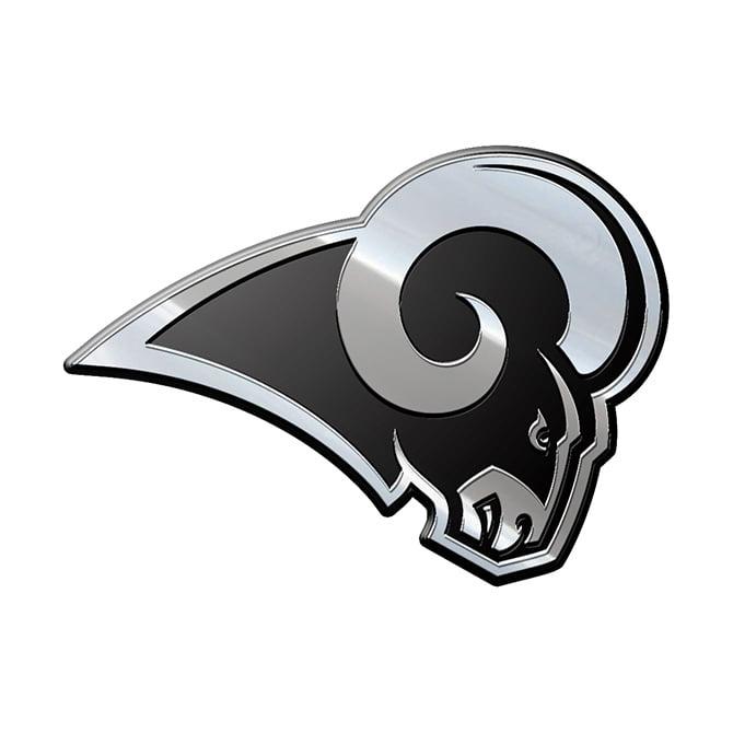 NFL Los Angeles Rams Metal Emblem