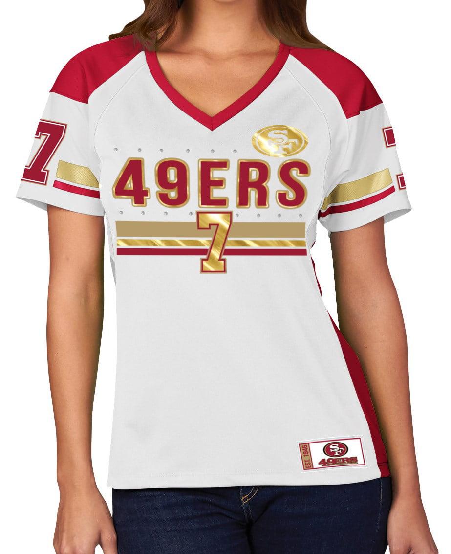 "Colin Kaepernick San Francisco 49ers Women's Majestic ""Draft ..."