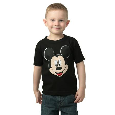 boys mickey mouse black t-shirt - 2t
