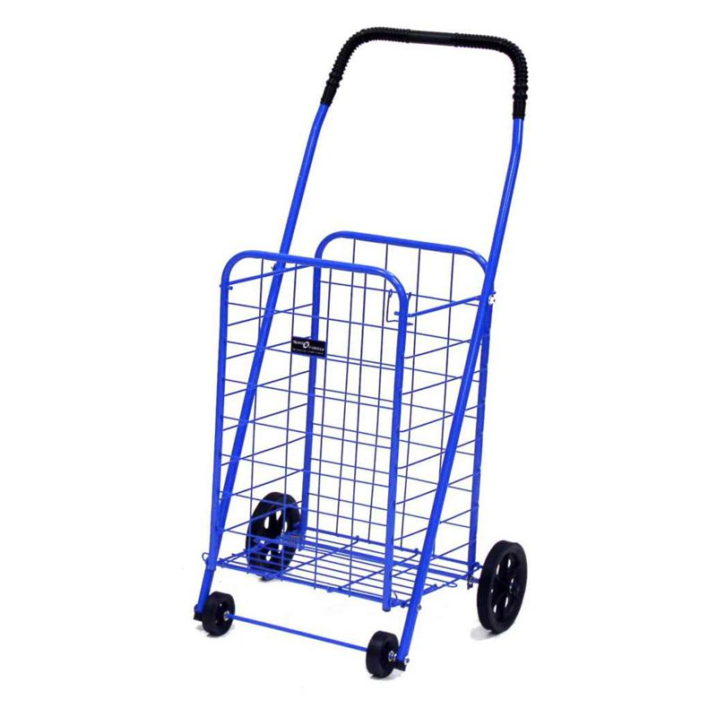 "Mini Shopping Cart 36"" x 12.75"" x 10.5"", Blue"