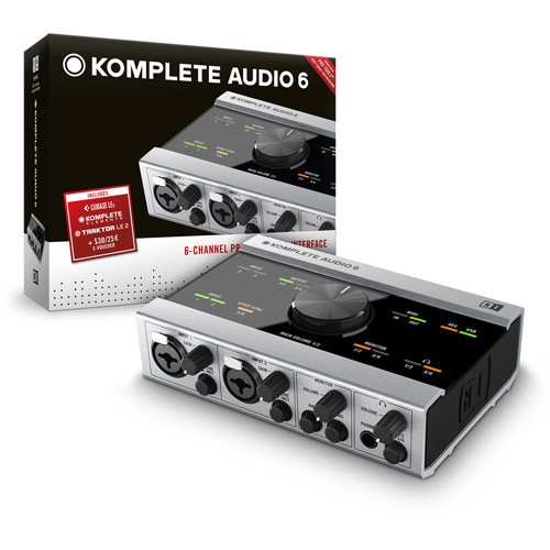 Native Instruments Komplete Audio 6 USB Interface by NATIVE INSTRUMENTS HW