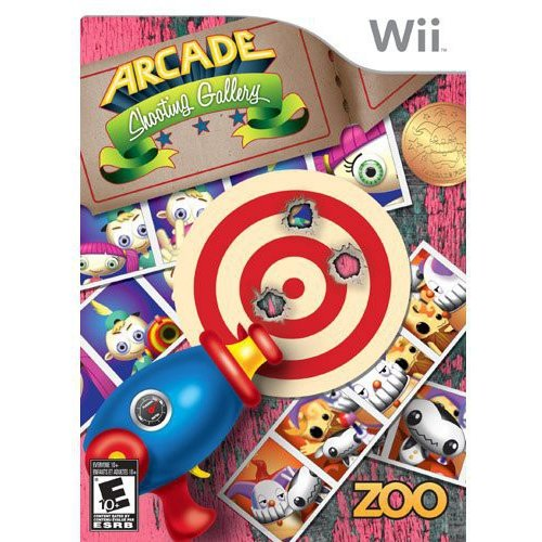 Image of Arcade Shooting Gallery with Gun (Wii)
