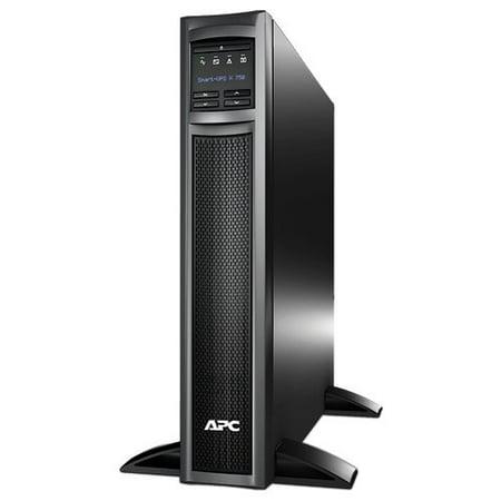 APC Smart-UPS 750VA 600W 120V Rack/Tower LCD Battery Backup Power Supply