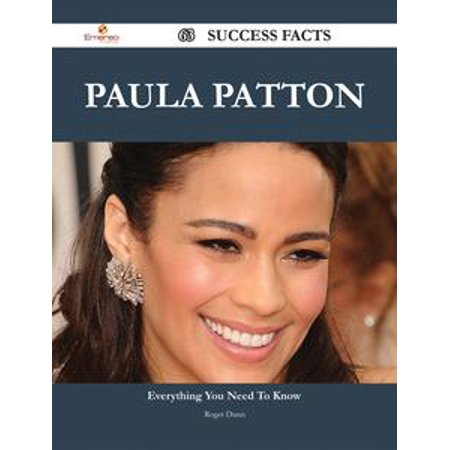 Paula Patton 63 Success Facts - Everything you need to know about Paula Patton - eBook