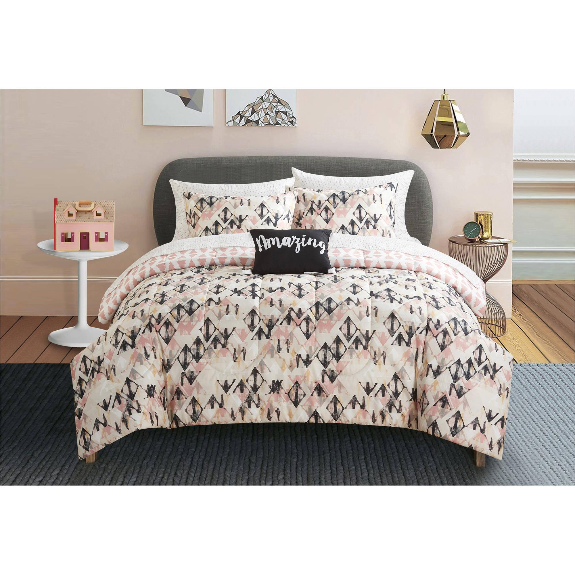 Formula Mad Diamond Bed in a Bag Bedding Set Walmart