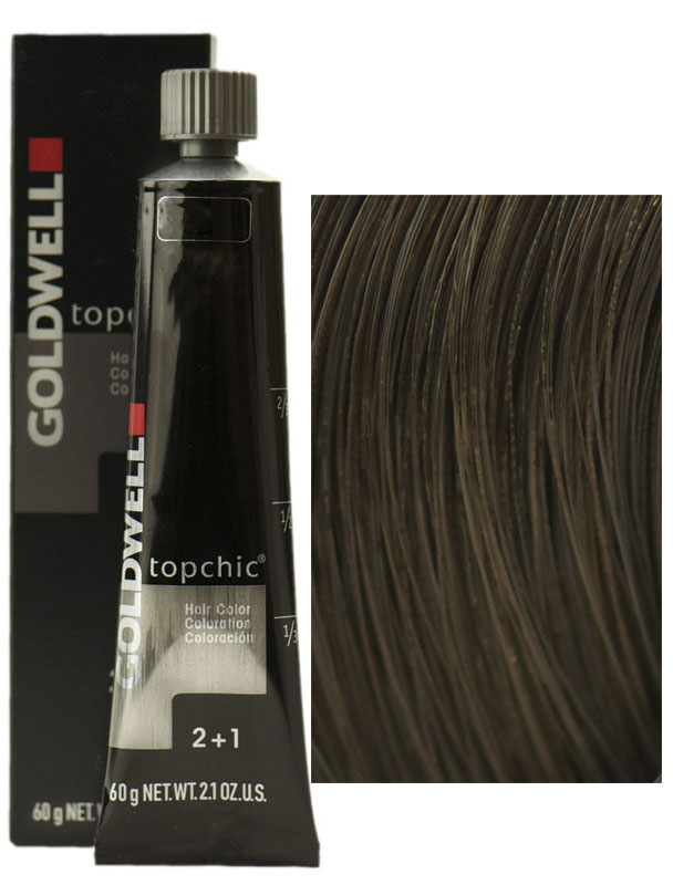 Goldwell Topchic Hair Color Coloration Tube 7a Mid Ash Blonde