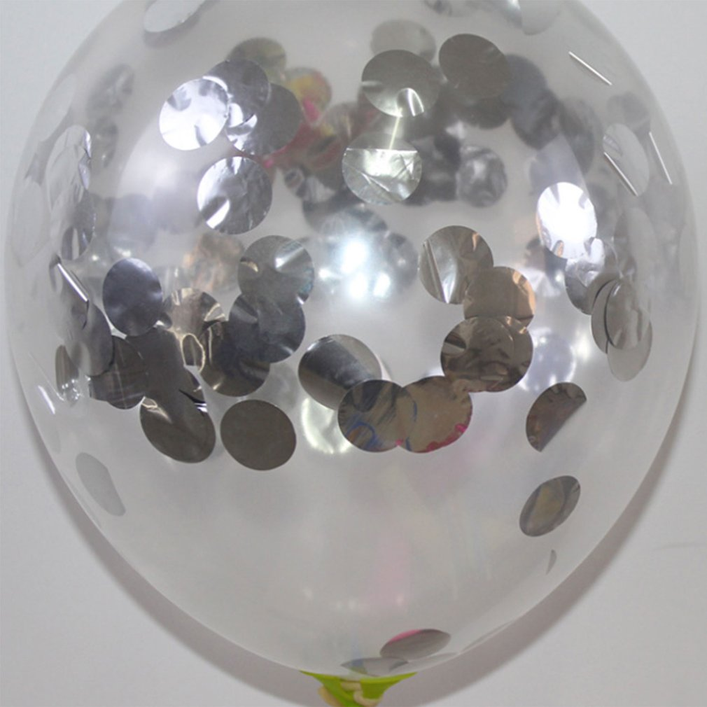 Latex Sequins Confetti Balloons Party Balloons Transparent Party Decor