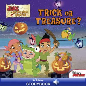 Jake and the Never Land Pirates: Trick or Treasure? - eBook - Jake Neverland Pirates Halloween