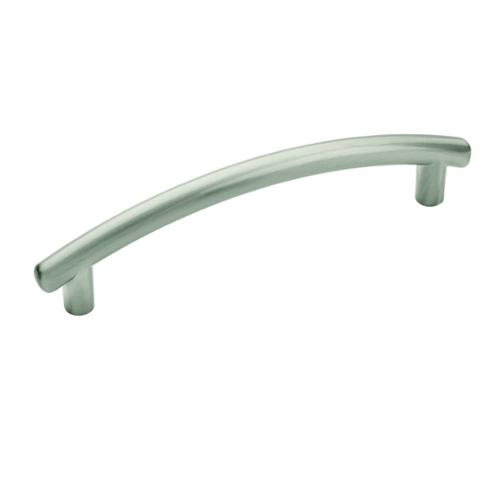Amerock Modern 4.50-Inch Satin Nickel Cabinet Pull (Pack of 5) by Overstock