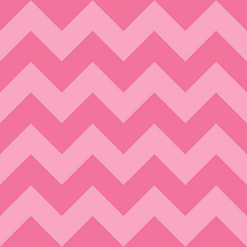 "Owl Love You Chevron, Flannel, Pink, 42/43"" Wide, Fabric by the Yard"