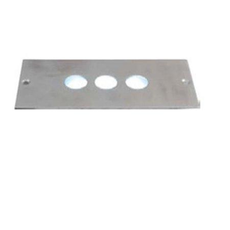 Jesco Lighting HG-ST10D-12V-WF 12V Step LGT 3 Circles- White ()