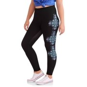 Junior's Plus Statement Print Leggings