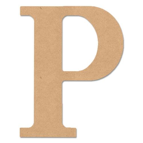 """MPI Wood 5"""" Classic Font """"P"""", 1 Each"""