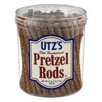 Utz Pretzel Rods, 27 Oz. Canister