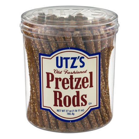 - Utz Pretzels, Rods 27 oz. Barrel