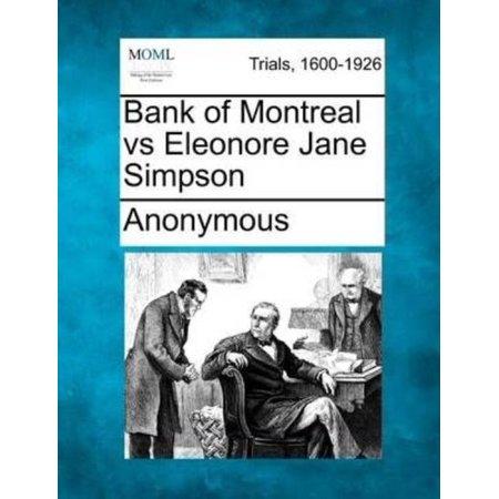 Bank Of Montreal Vs Eleonore Jane Simpson