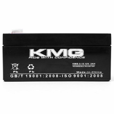 KMG 12V 3Ah Replacement Battery for Powersonic PS-1230 - image 1 de 3