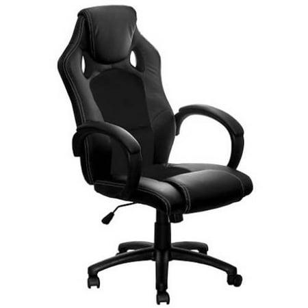 aleko alc2324bl high back office chair ergonomic computer. Black Bedroom Furniture Sets. Home Design Ideas