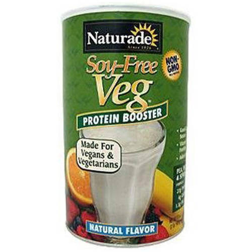 Naturade Soy-Free Vegetable Protein Booster, Natural Flavor, 32 OZ