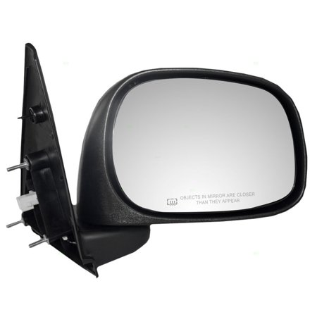 Passengers Power Side View Mirror Heated 6x9 Textured Replacement for Dodge Pickup Truck 55077924AD, Brand new aftermarket replacement By AUTOANDART