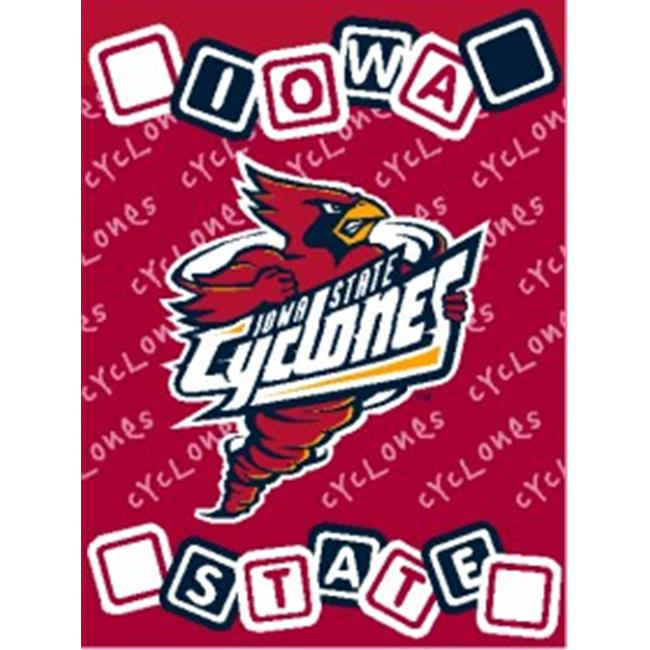 Iowa State Cyclones 36''x48'' Woven Baby Throw Blanket