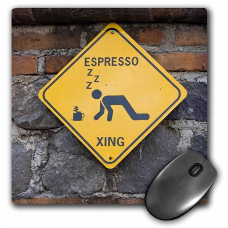 3dRose Guatemala, Antigua, Local coffee plantation sign - SA10 JEG0476 - Julie Eggers, Mouse Pad, 8 by 8 inches