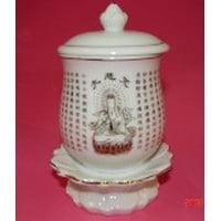 White Kuan Yin Vases-4.5 inch