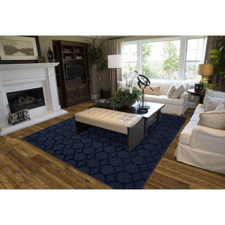 Sparta Cut And Loop Patterned Room Size Area Rug Walmart Com