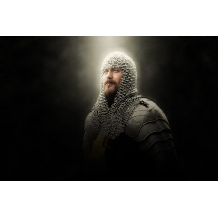 Faux Chainmail (LAMINATED POSTER Chainmail Middle Ages Armor Historically Knight Poster Print 24 x)