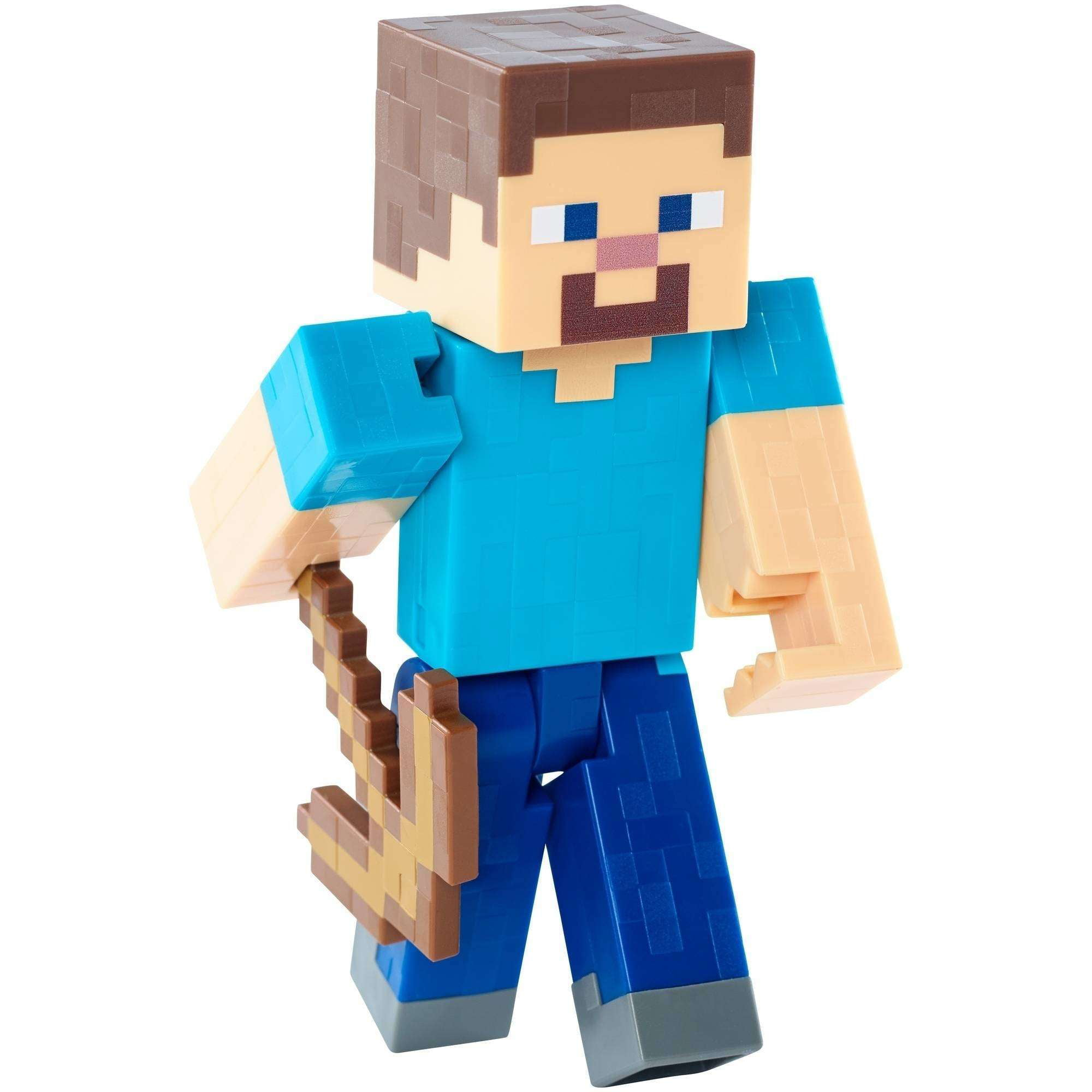 Minecraft Steve With Pickaxe Basic Figure by Mattel