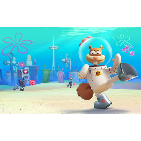 Spongebob Battle for Bikini Bottom F.U.N. Ed - Spongebob Squarepants: Battle for Bikini Bottom - F.U.N Edition for Nintendo Switch - Switch