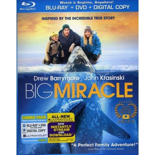 Big Miracle (Blu-ray + DVD + Digital Copy) (With INSTAWATCH) (Widescreen)