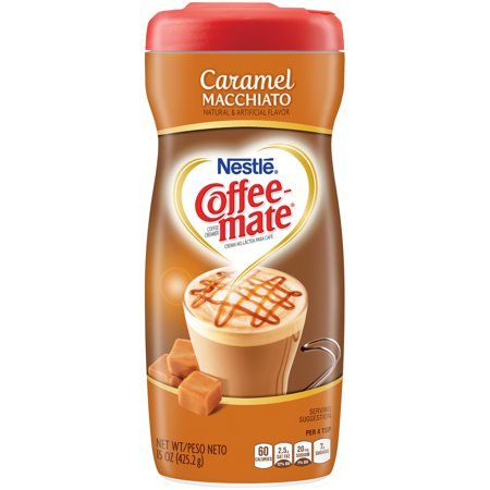 - (3 pack) COFFEE MATE Caramel Macchiato Powder Coffee Creamer 15 oz. Canister