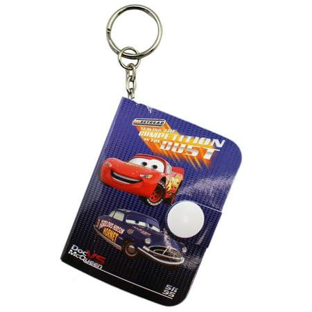 Doc Hudson Accessories - Disney Pixar's Cars Lightning Mcqueen Doc Hudson Tindy Blue Diary Keychain