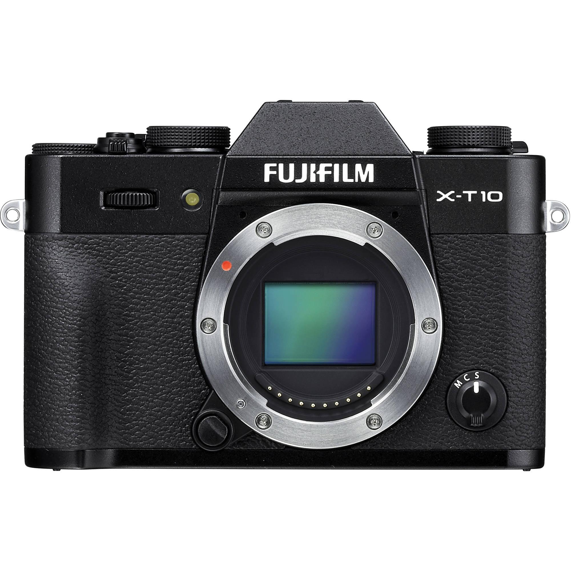 FujiFilm X-T10 Mirrorless Digital Camera with 16-50mm F3.5-5.6 OIS II Lens by Fujifilm