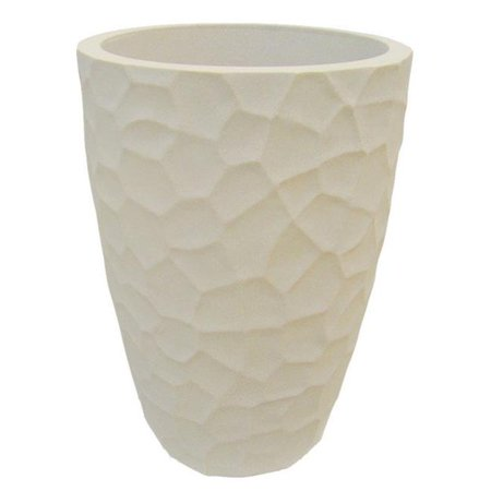 Catalina Pottery (Japi Pottery JVOP30S 30 cm Prisma Conic Planter, Sandstone )