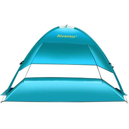 Beach Tent Pop-Up Beach Umbrella Sun Shelter Pop Up UV50+ Canpoy by (Pacific Breeze Easyup Beach Tent Deluxe Xl)