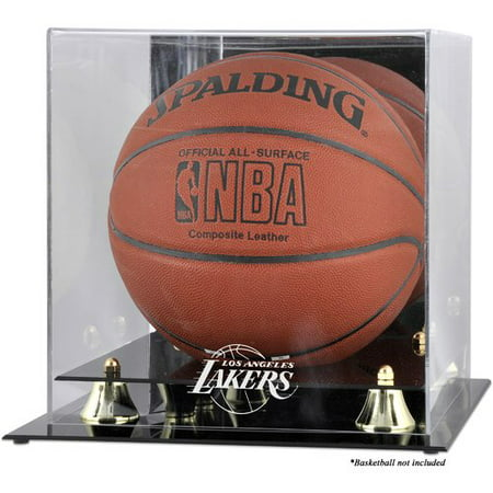 Mounted Memories NBA Golden Classic Logo Basketball Display Case](Lakers Clippers Halloween)