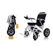 Horizon Med Fold & Travel Electric Wheelchair, Medical Mobility Aid Power Wheelchair, Lightweight Electric Wheelchairs, Power Chair, Heavy Duty Mobility Scooter