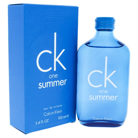 Grace Limited Edition - CK One Summer by Calvin Klein for Unisex - 3.4 oz EDT Spray (2018 Limited Edition)