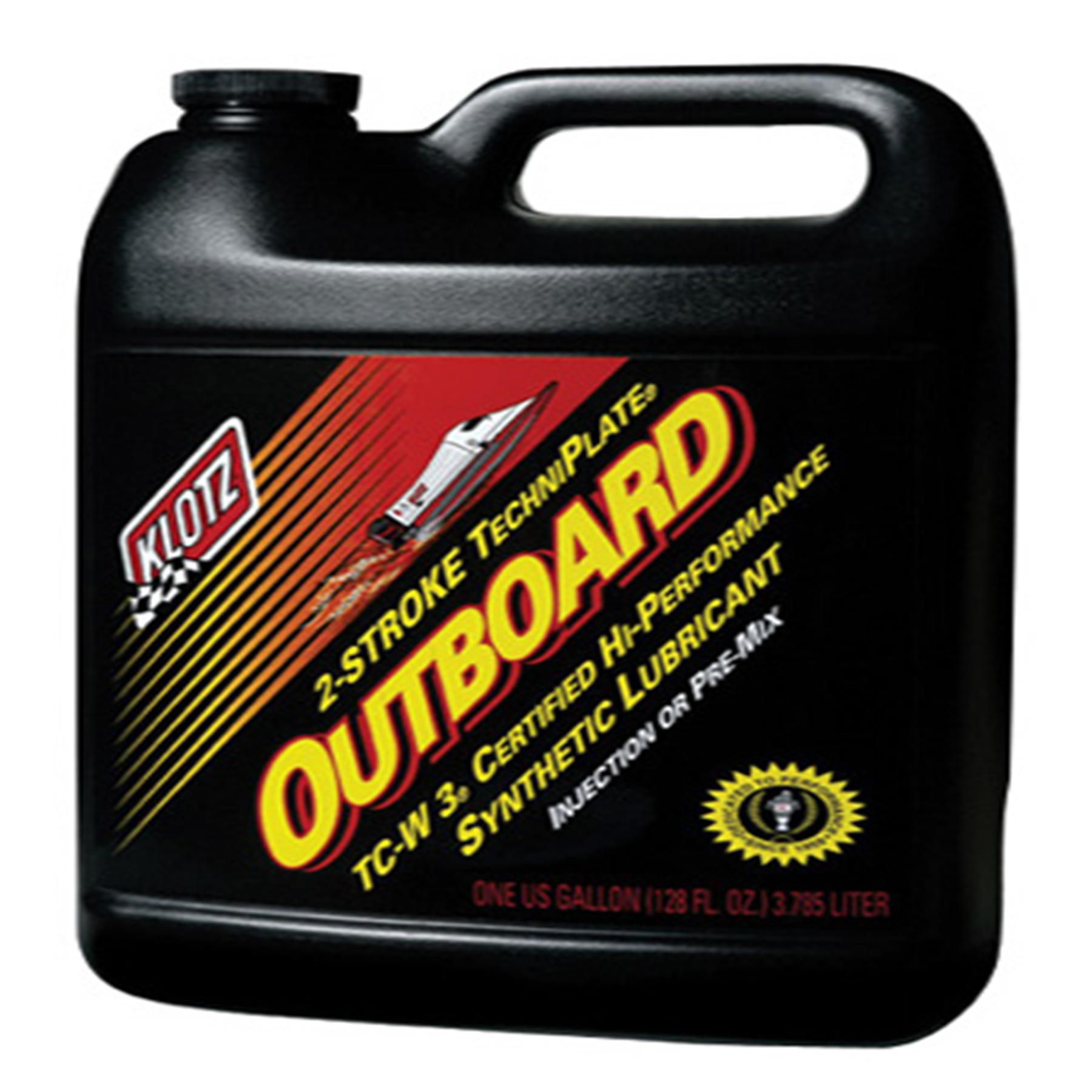 KLOTZ OUTBOARD OIL, GALLON