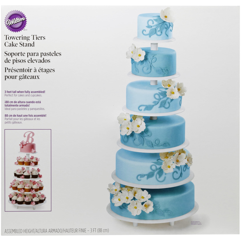 Wilton Towering Tiers Cupcake and Dessert Stand - Walmart.com