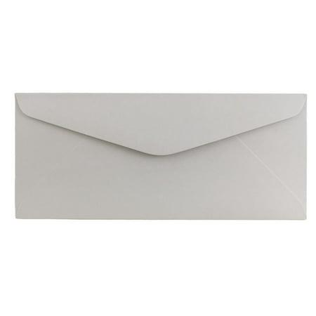 JAM #11 Envelopes, 4.5x10.4, Grey Kraft, 1000/Carton Gray 1000 Envelopes