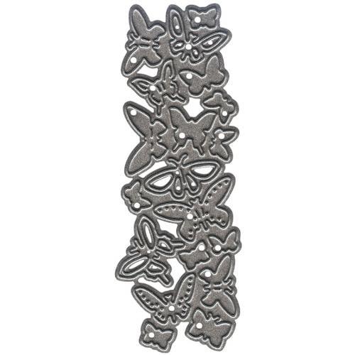 "Marianne Design Craftables Punch Dies-Butterflies, 1.32""X3.72"""
