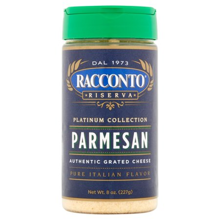 - Racconto Riserva Cheese Parmesan Grated,8 Oz (Pack Of 6)