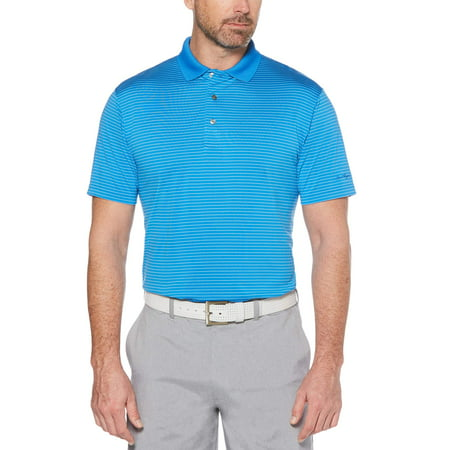 Ben Hogan Men's performance short sleeve stripe polo shirt ()